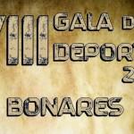 Candidaturas premiadas en la VIII Gala del deporte 2014 de Bonares.