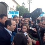 Abandonan la sesión del Consejo de Participación de Doñana, en solidaridad con los agricultores