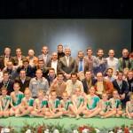 La Gala del Deporte de Bonares reunió a más de 250 asistentes.