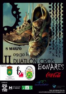 Cartel II Duatlón Cros de Bonares