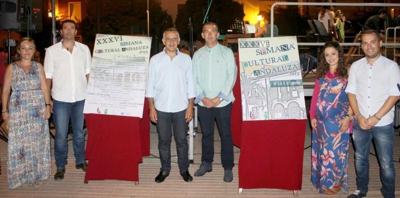 Presentacion de la semana cultural andaluza de Bonarres 2015.