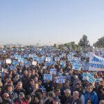 La Plataforma de Regantes del Condado prepara una movilización de 4.000 vehículos a Sevilla para exigir el trasvase.