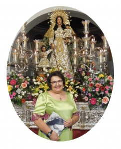 Exaltación a Santa María Salomé por Dª Manuela Juana Salomé Romero Limón.