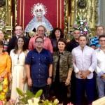 Toma posesión la nueva Junta de Gobierno de la Hermandad de Nazarenos.