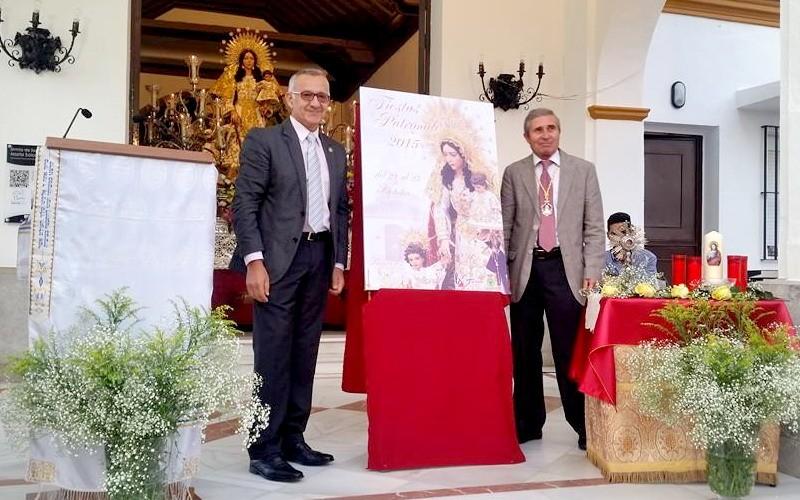 presentacion del cartel de las fiestas patronales de Bonares 2015.