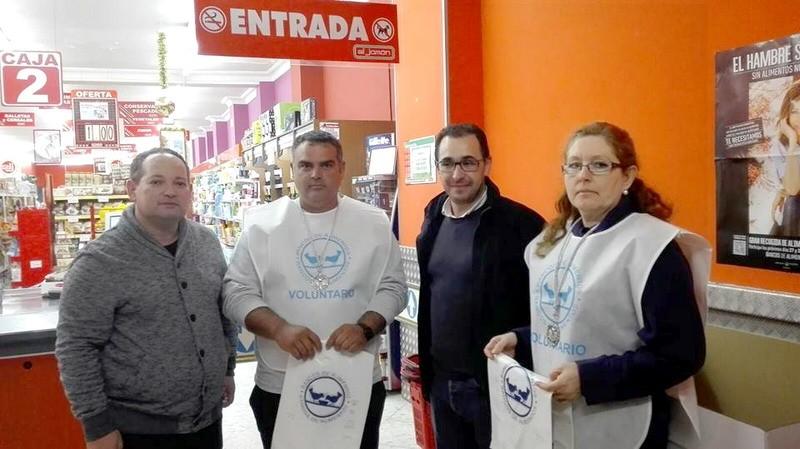 recogida de alimentos en Bonares