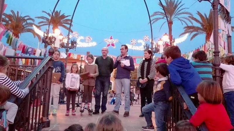 concurso de postales navideñas en bonares
