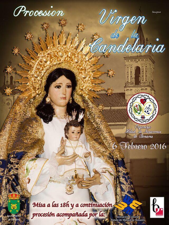 Procesión Virgen de la Candelaria de Bonares