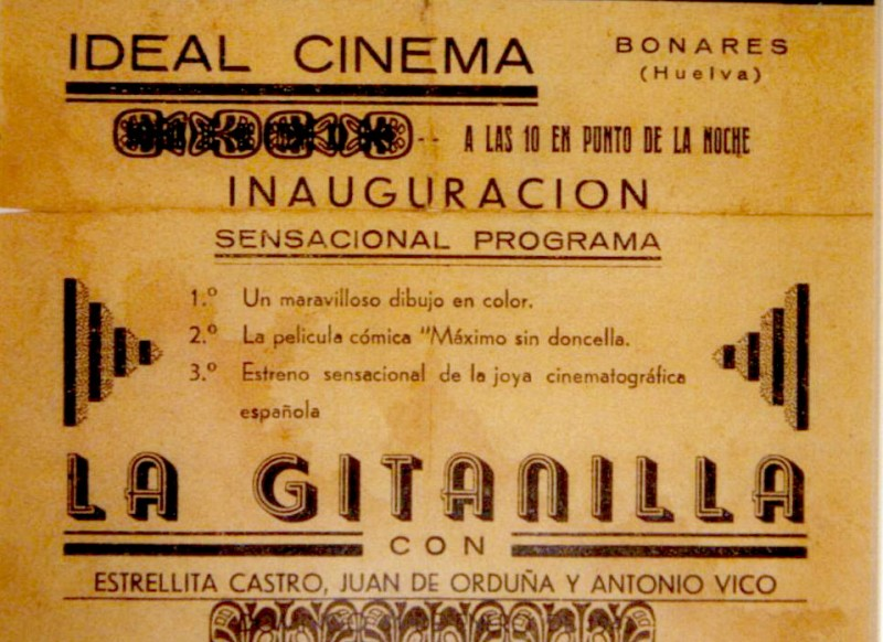 ideal cinema de Bonares.