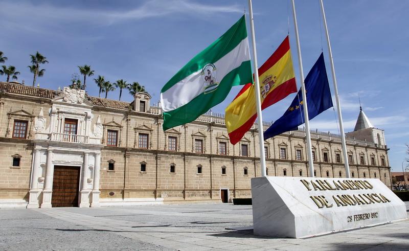 fachada del parlamento de andalucía.