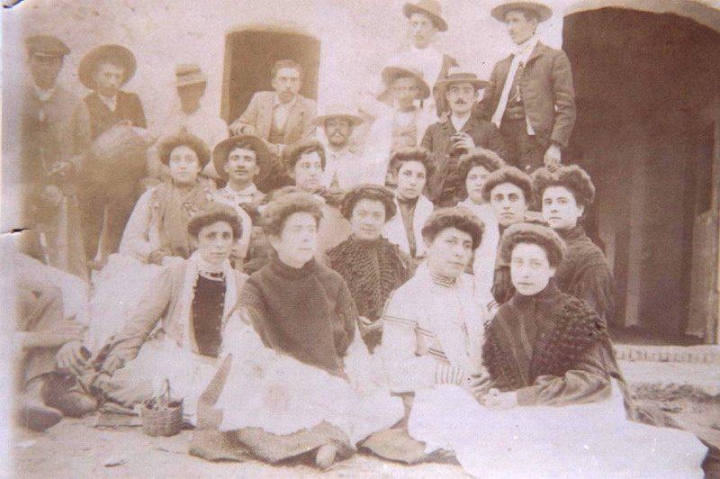 principios siglo XX Bonares