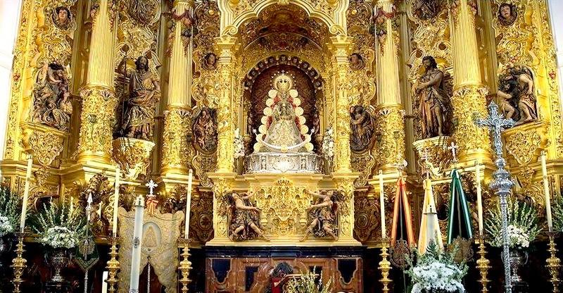 virgen del rocio, Almonte Huelva