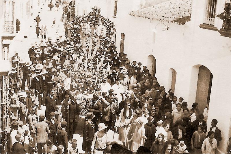 cruz del rincón de Bonares