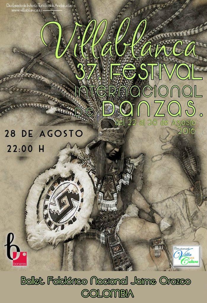 Cartel 37 Villablanca 2016 bonares
