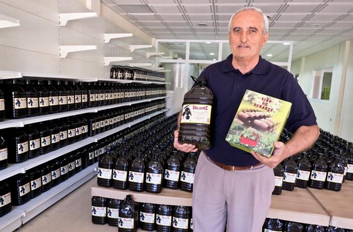 José María Martínez, gerente de la Cooperativa Salomé.