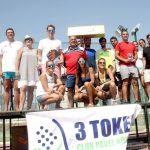 El C.D. Pádel 3 Tokes de Bonares celebra la Prueba Provincial Absoluta de Huelva.