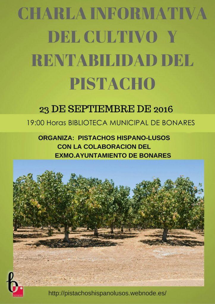 cultivo del pistacho en Bonares.