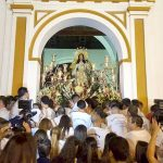 Traslado de Santa María Salomé a la Iglesia.