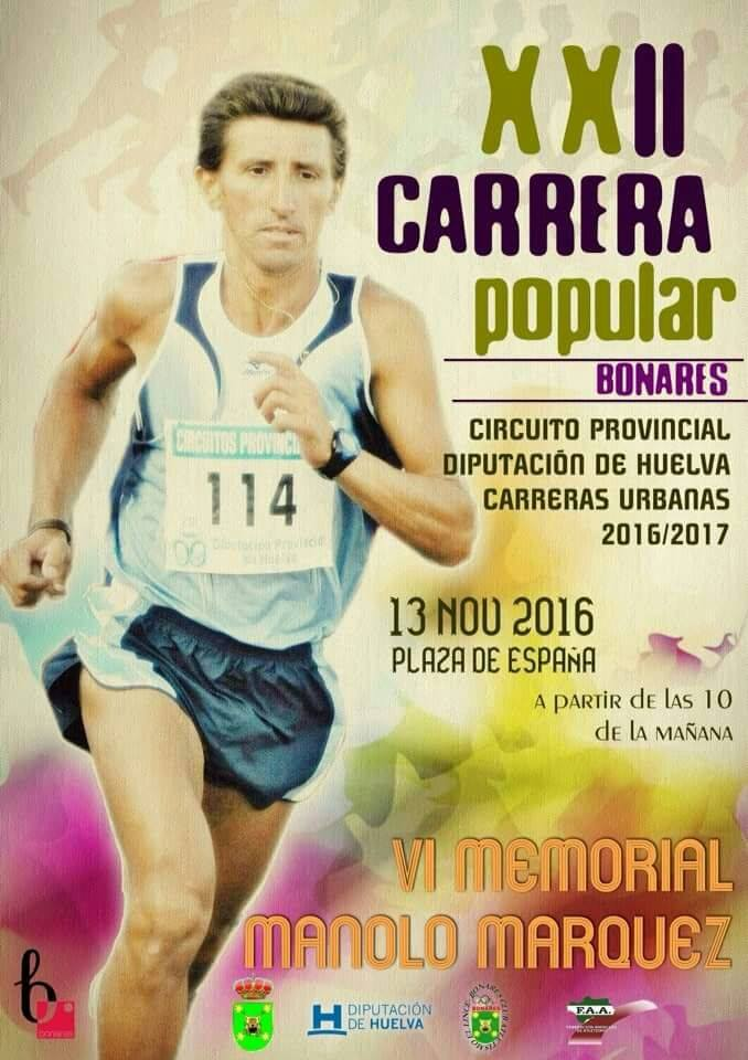 carrera popular de Bonares.