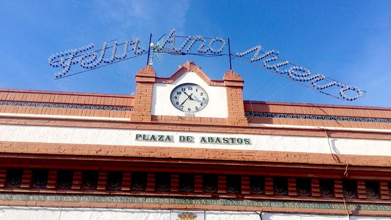 reloj plaza españa bonares