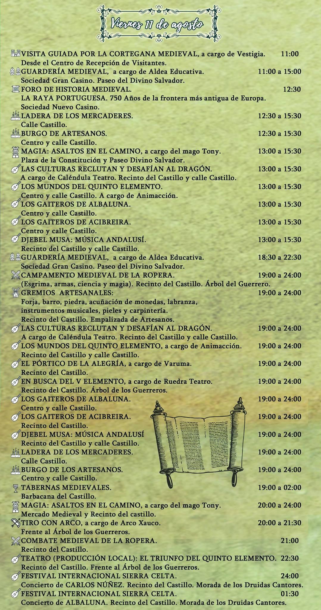 cortegana medievales