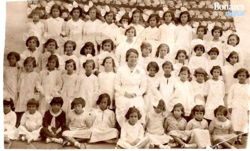 escuela niñas bonares 1932