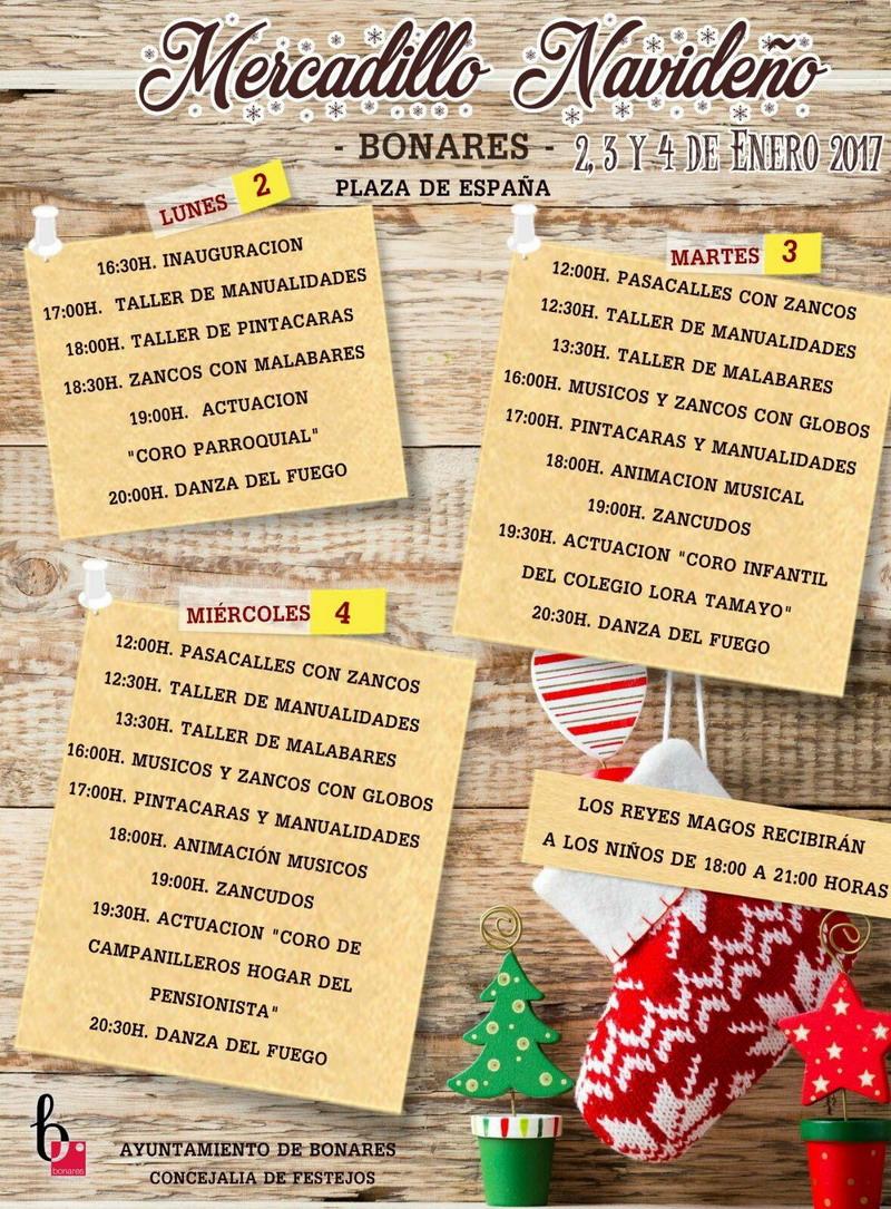 mercadillo navideño de Bonares