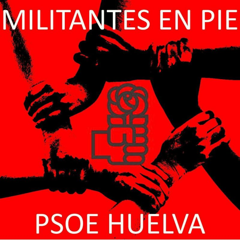 psoe huelva militantes en pie