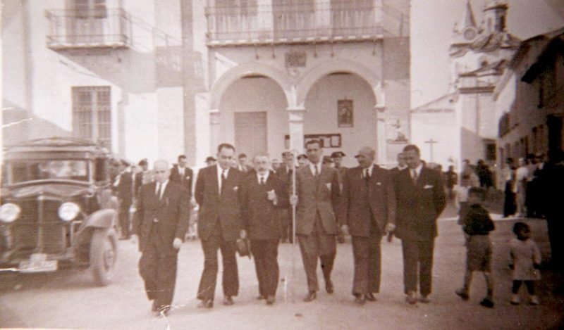 autoridades ayuntamiento bonares año 1943