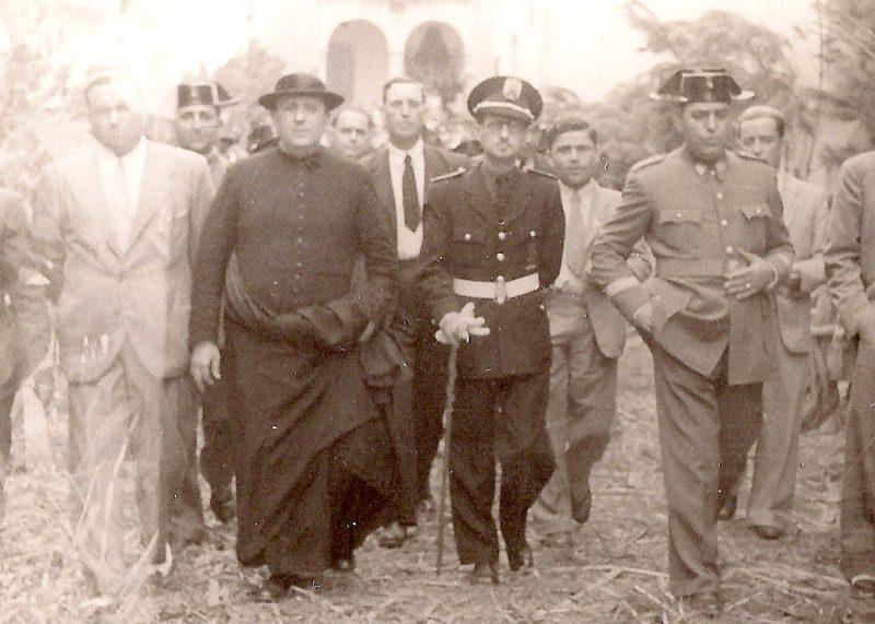 junio 1944 dia del Corpus en Bonares.