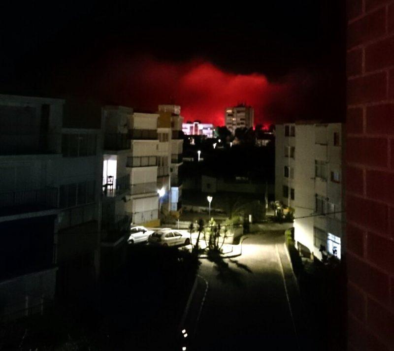 incendio mazagon