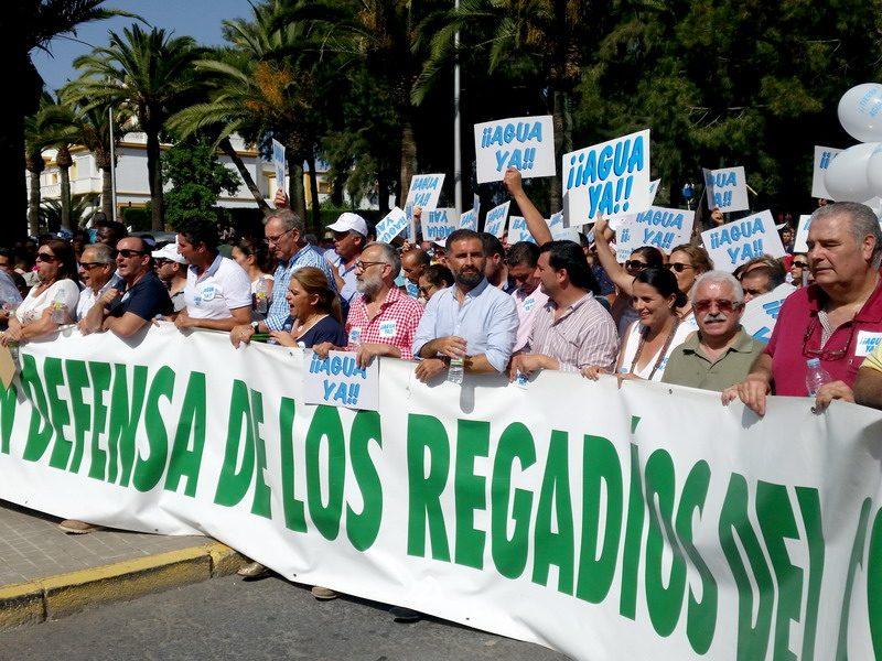 manifestacion delegacion medioambiente