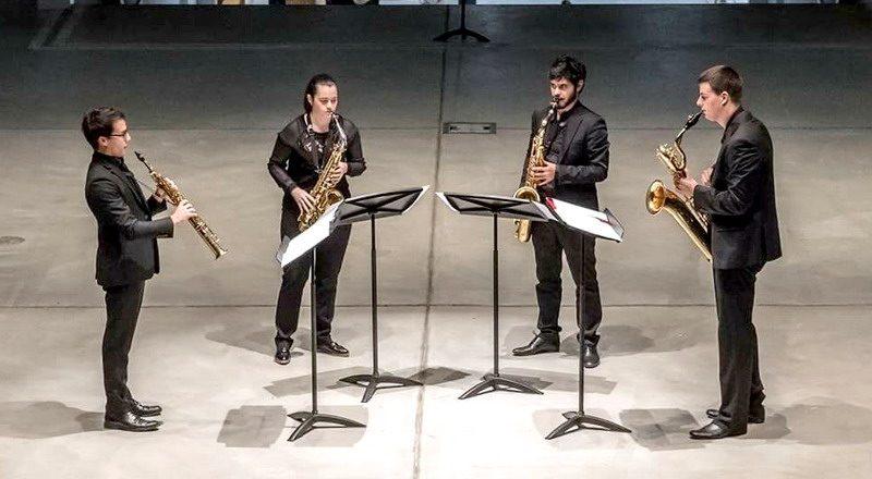 Spectre Quartet saxofon