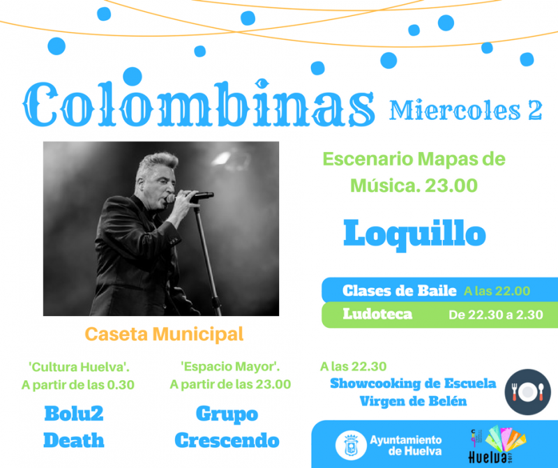 colombinas 2017 loquillo