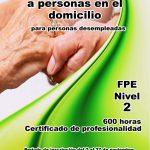 Curso de FPE de Atención sociosanitaria a personas en el domicilio.