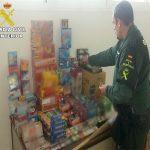 Intervenidos 6.500 artificios pirotécnicos y 376 juguetes que no cumplían la normativa