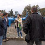 El Fresno muestra a agricultores y técnicos franceses su apuesta por el riego sostenible.