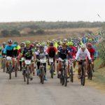 La Ruta Cicloturista Vino del Condado congrega a casi 300 ciclistas en Chucena.