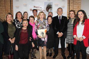 La bonariega Sebastiana Prieto fue reconocida por su trayectoria vital