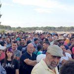 Agricultores y vecinos acuerdan hacer turnos de vigilancia para impedir el cierre de los pozos de Lucena.