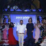 Paco Prieto presenta su nueva colección en la pasarela We Love Flamenco.