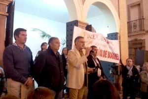 Bonares se vuelca con sus agricultores ante la pasividad de las administraciones en solucionar el problema del agua.