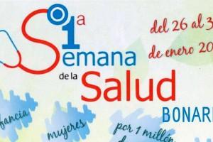 Este lunes arranca la  Primera Semana de la Salud de Bonares.