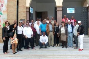 La República Dominicana se interesa por el cooperativismo de Bonares.