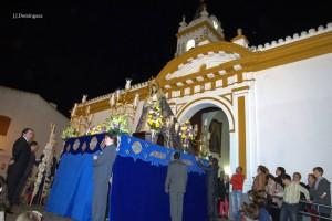 La Candelaria recorre las calles de Bonares.