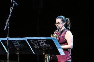 Patricia Coronel ofrecerá un Recital de Saxofón en la Iglesia de Bonares.