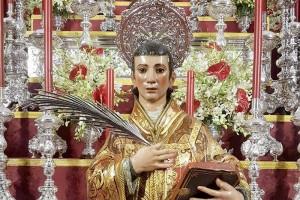 Todo preparado en Lucena del Puerto para la celebración de sus fiestas en honor a San Vicente Mártir.