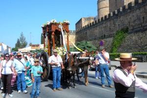 Este fin de semana Niebla celebra la romería de la Virgen del Pino.
