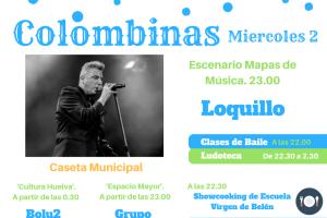 Segundo día de Colombinas, Loquillo llenará de rock´n roll el escenario 'Mapas de Música'