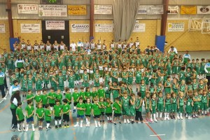 Un total de 243 jugadores repartidos en 13 equipos conforman la gran familia del C.B.Bonares esta temporada.